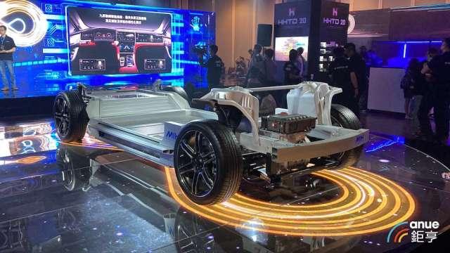 鴻海今年第四季將推3款電動車新品。(鉅亨網資料照)