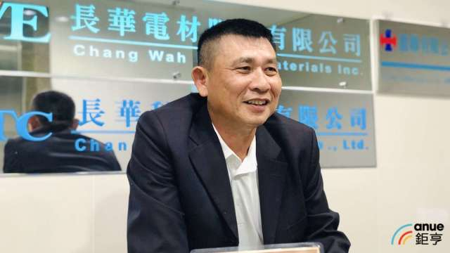 長華董事長黃嘉能。(鉅亨網資料照)