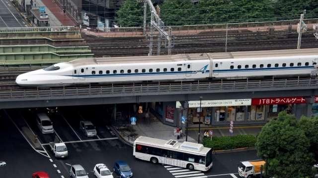 疫情造成新幹線使用率大減 日本JR東海估全年虧損2340億日圓 (圖片:AFP)