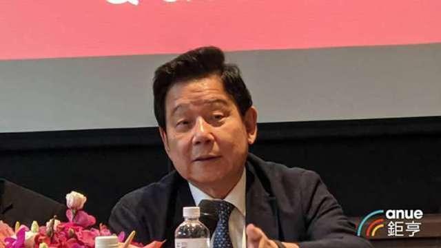 樂天國際銀行大股東國票金董事長魏啟林。(鉅亨網記者陳蕙綾攝)