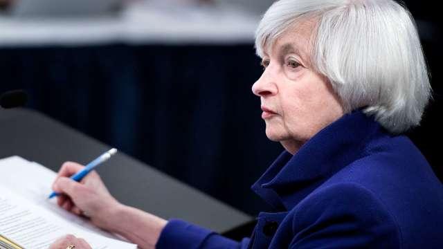 葉倫批評比特幣低效率、高投機。(圖片:AFP)