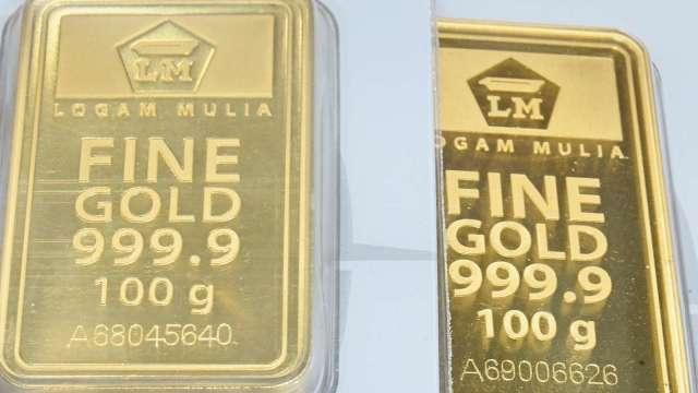 〈貴金屬盤後〉公債殖利率回落 市場擔憂通膨 黃金重返1800美元以上 (圖片:AFP)