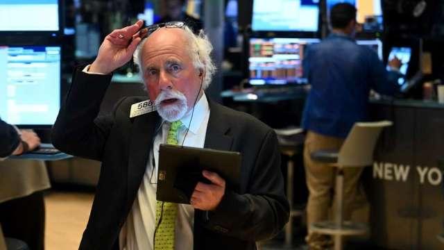 美債波動率指數衝高 分析師:美股VIX指數可能連動飆升(圖:AFP)