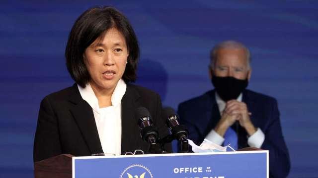 美國準貿易代表戴琪:中國是敵人也是朋友 與盟友合作務實抗中 (圖:AFP)
