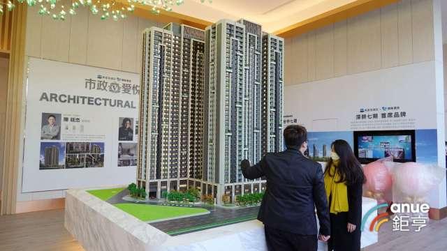 房市回春 北台灣新建案銷售率達58%創7年新高。(鉅亨網記者張欽發攝)