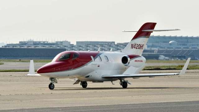 HondaJet連續四年稱霸小型噴射商務機市場 (圖片:AFP)
