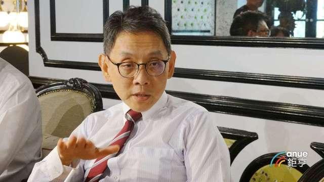 瀚宇博、精成及精星科技董事長焦佑衡。(鉅亨網記者張欽發攝)