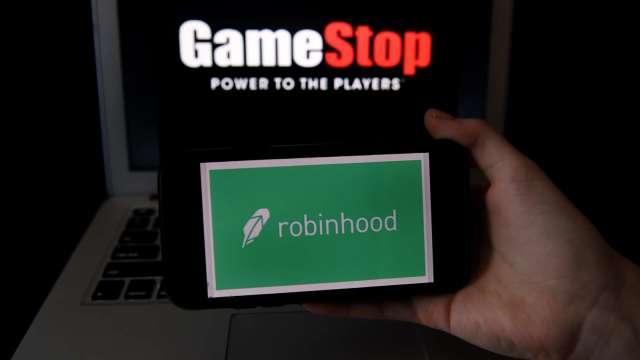 GameStop積極轉型 可能購買比特幣。(圖片:AFP)