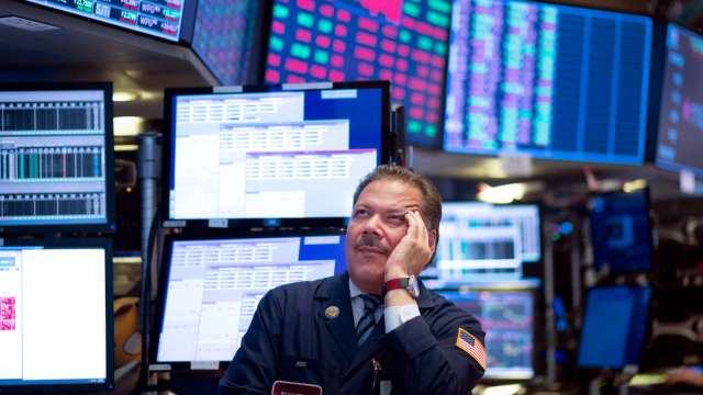 華爾街為什麼開始真正擔心債券殖利率飆升?(圖片:AFP)