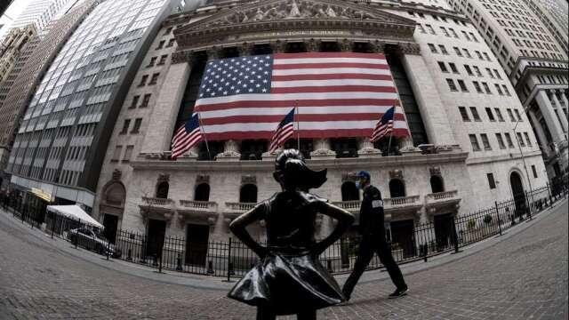 殖利率狂飆市場現拋售潮 華爾街:短期難見股市走熊(圖:AFP)