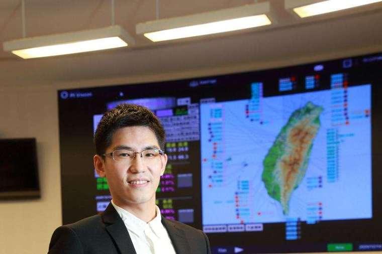 首屆「劉書勝紀念獎」,由台電電力調度處工程師鄭宇軒獲得。