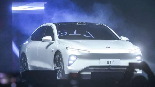 蔚來汽車2021年度研發費用翻倍 將投入電池研發等 (圖片:AFP)