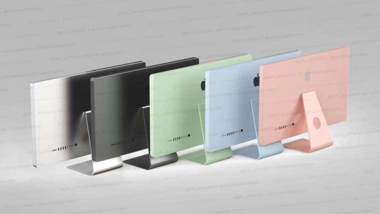 新款 iMac 將會提供五種新顏色 (圖片:Jon Prosser)