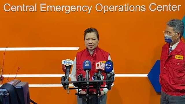 經濟部長王美花。(圖:經濟部水利署提供)