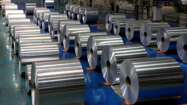 鋁價狂飆逾2年新高 (圖片:AFP)