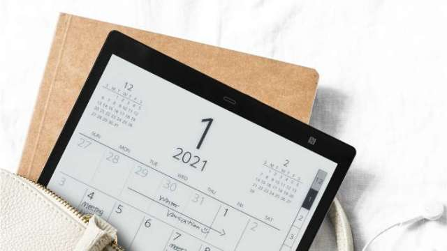 日本索尼將推新一代彩色電子紙閱讀器,元太可望受惠。(圖:元太提供)
