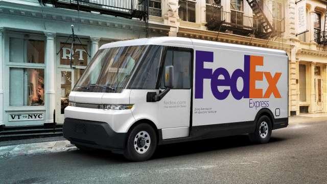 FedEx投入20億美元 承諾至2040年實現電動車物流(圖片:AFP)
