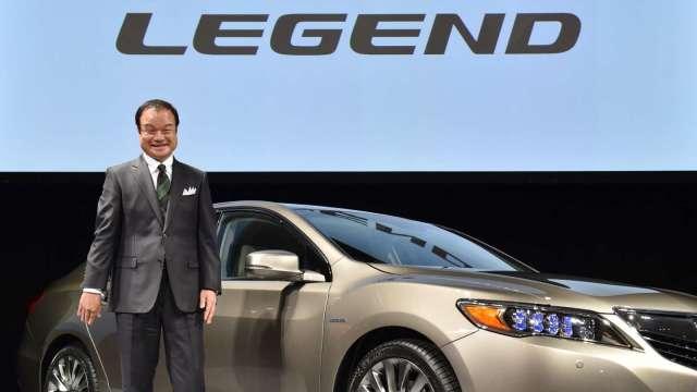 本田汽車明推出全球首款Level 3自駕車「Honda Legend」 限量銷售100輛 (圖:AFP)