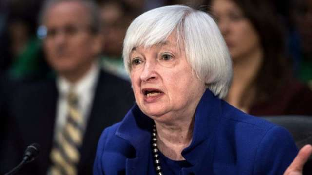 葉倫和Fed同一陣線:殖利率上升代表經濟強勁 非關通膨 (圖:AFP)