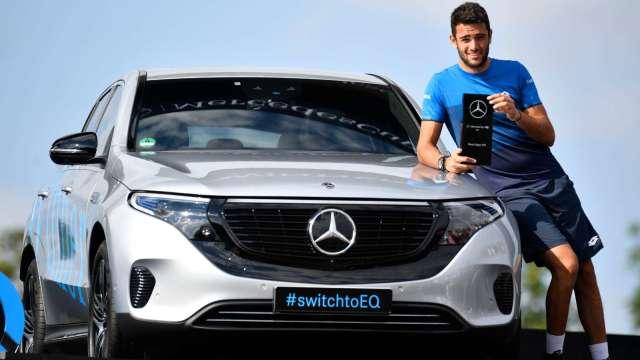 賓士決定在德國自行生產EV用電池芯 (圖片:AFP)