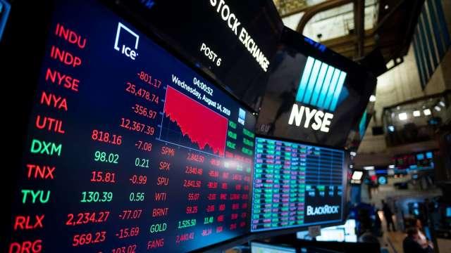 〈美股早盤〉1.9兆美元紓困案參院闖關成功 道瓊大漲逾200點 科技股續承壓 (圖:AFP)