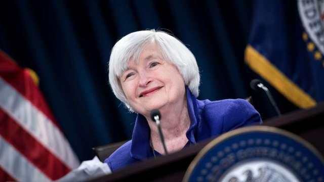 1.9兆美元紓困加劇通膨風險? 葉倫:不太可能發生 (圖:AFP)