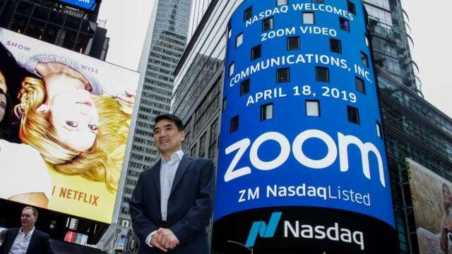 Zoom創辦人袁征轉轉讓60億美元持股  發言人:典型節稅財務規劃(圖片:AFP)