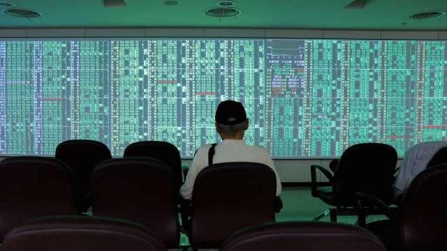 科技股遭拋售 IC設計四千金自高點回落逾20% 摜破所有短均。(圖:AFP)