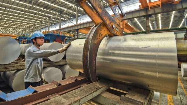 大成鋼2月營收續強 66.2億元寫18個月高點。(示意圖:AFP)