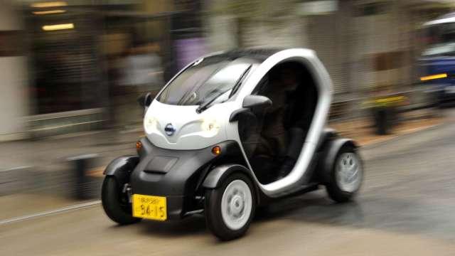 日經:日產三菱最快2022推出K-Car版電動車 實際售價低於200萬日圓 (圖片:AFP)