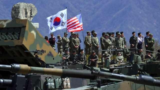 南韓外交部:已同意增加支付13.9%駐韓美軍費用(圖:AFP)