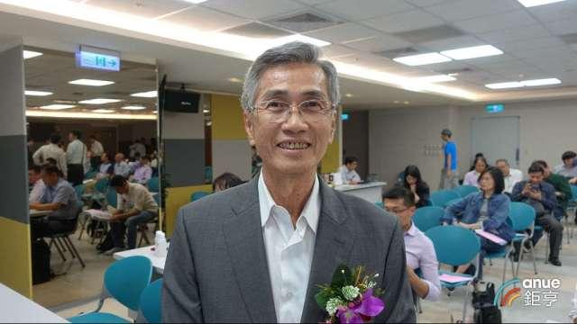 明揚董事長劉安晧。(鉅亨網記者張欽發攝)