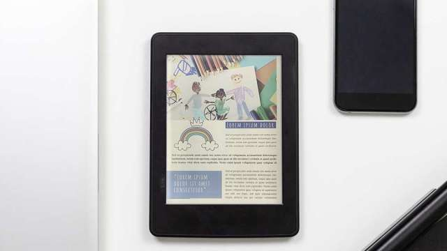 元太發表新一代彩色印刷電子紙技術,鎖定教育、繪本商機。(圖:元太提供)