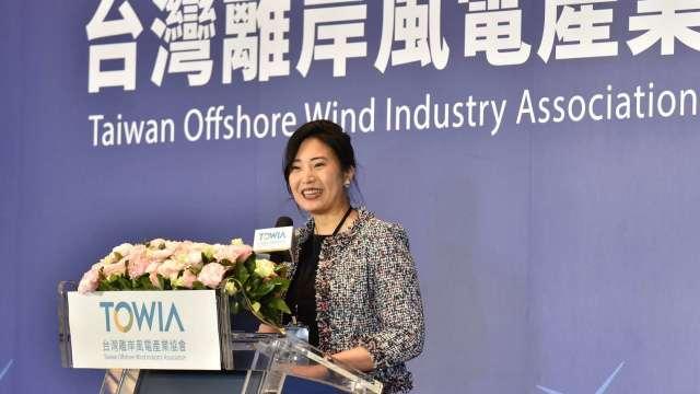 台灣離岸風電產業協會理事長許乃文。(圖:台灣離岸風電產業協會提供)