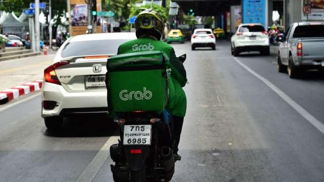 東南亞最大獨角獸Grab 擬透過SPAC加速在美上市。(圖:AFP)