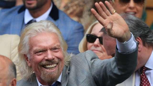 英國富豪布蘭森的另一家太空公司Virgin Orbit也要借殼上市 (圖:AFP)