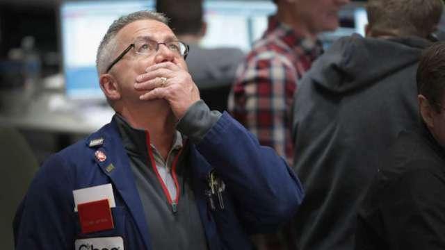 殖利率上升、美股大跌末日將至? (圖:AFP)