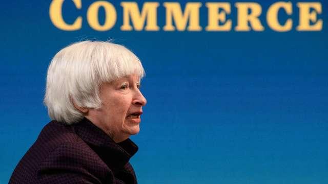 葉倫:美國的通膨風險仍然可控 充分就業前景可期(圖片:AFP)