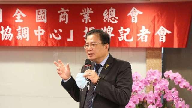 商總理事長許舒博。(圖:商總提供)