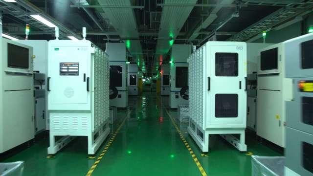 鴻海成都廠成為集團第二座獲得WEF認證的燈塔工廠。(圖:鴻海提供)