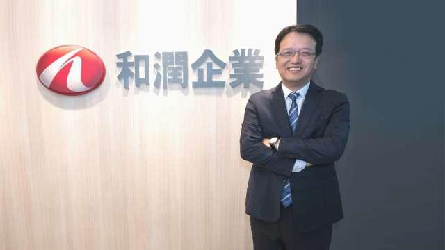 和潤總經理林彥良。(圖:和潤提供)