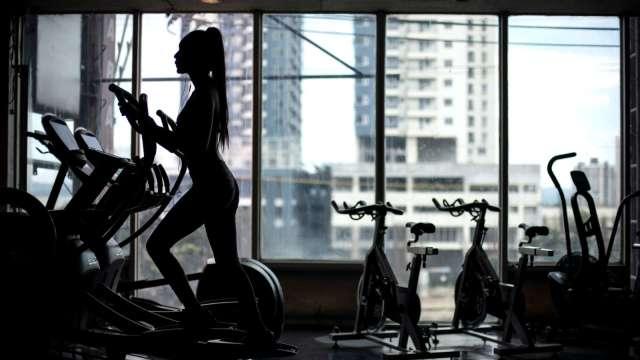 力山去年受惠健身機需求帶動。(圖:AFP)