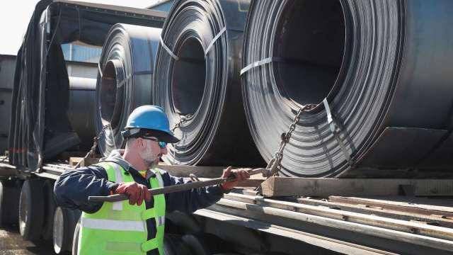 美國鋼鐵迎春燕 Q1Ebitda遠高於預期 但華爾街尚未買單 (圖片:AFP)