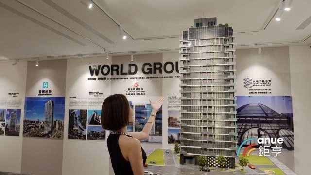 富邦建設重返台北豪宅市場推案60億元,欣陸旗下大陸工程拿下營建工程。(鉅亨網記者張欽發攝)
