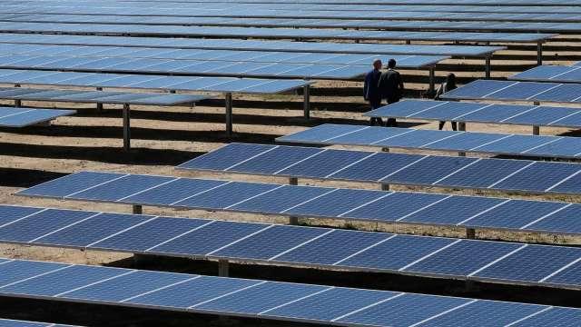 SEIA:至2030年 美國太陽能裝機容量有望成長3倍(圖片:AFP)