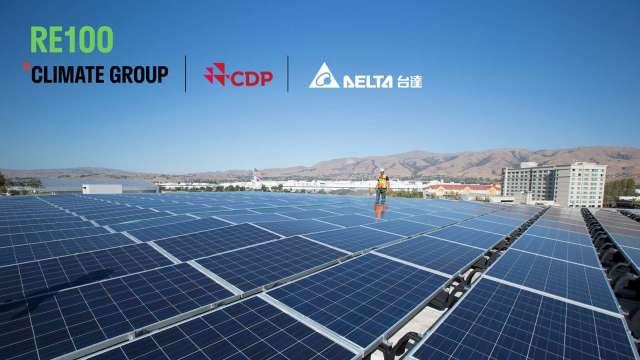 台達電加入RE100倡議組織 目標2030年全球廠辦達碳中和。(圖:台達電提供)