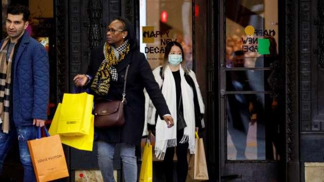 極端天氣打壓需求 美國2月零售銷售月減3% (圖:AFP)