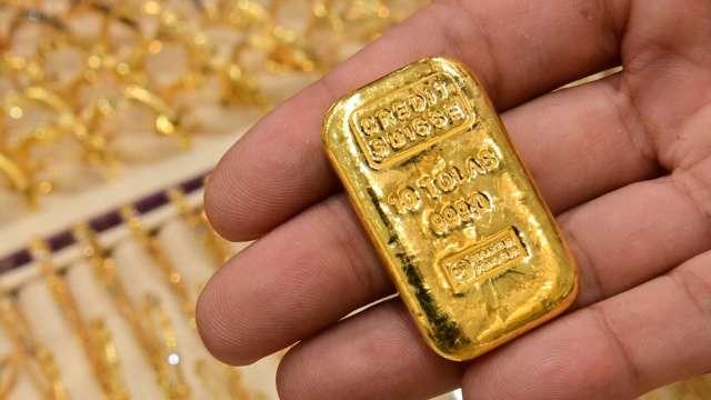 〈貴金屬盤後〉料Fed重申當前立場 黃金收登2週高點 (圖片:AFP)