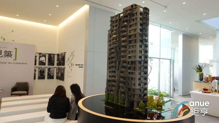 北市松山區推出「衍見築」案挑戰區域新高價,每坪開價 180-200 萬元。(鉅亨網記者張欽發攝)