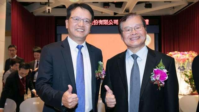 和潤企業董事長田天明(右)和總經理林彥良(左)。(圖:和潤提供)